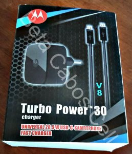 Carregador Turbo Power 30 V8