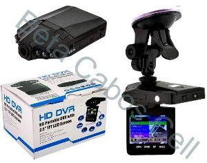Câmera HD Dvr Veicular Filmadora Automotiva Carro Lcd 2.5