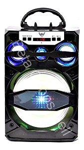Caixa De Som Altomex A81 A-81 A 81 Bluetooth Portátil Amplificada Usb Fm Sd 15w