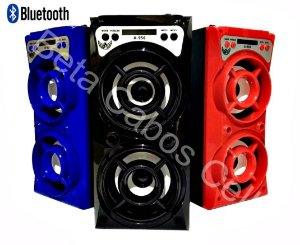 Caixa Som Altomex A-956 A956 A 956 Bluetooth Amplificada Torre Mp3 Fm Usb Sd