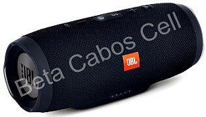 Caixa De Som Charge 3 JB. Portátil Bluetooth Pen Drive Fm