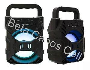 Caixa de Som  WKS 1067 Portátil Bluetooth