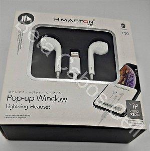 Fone HMaston Lightning Wireless P50 iP 7 8 X XR XS H***