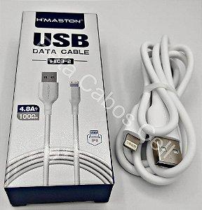 Cabo USB Hmaston Iphone H-103-2 H 103 4.8A H***