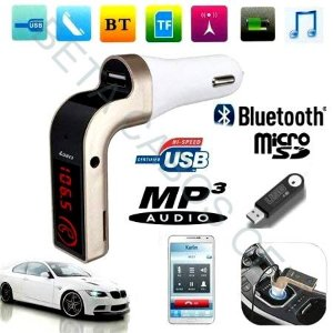 Transmissor Fm Veicular Bluetooth Carg7 Mp3 Usb Sd