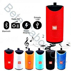 Caixa De Som Alto-falante Bluetooth Sd P2 Fm - Tg113 D***