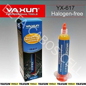 Fluxo De Solda Bga Sem Halogênio Yaxun Yx-617 Reballing