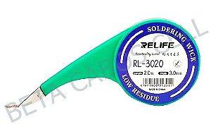 Malha Dessoldadora Sunshine Relife RL-3020 RL 3020 – 3.0mm 2m