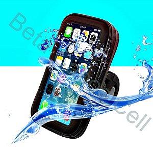 Suporte Prova D'agua Celular Moto Gps 6.3 Polegadas Altomex