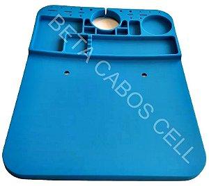 Manta Anti Estática Para Microscópio Silicone 26 x 20