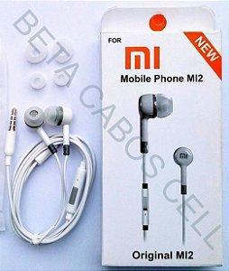 Fone De Ouvido Smartphone Xiaomi Mi2 P2 Earphone -B