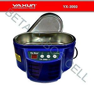 Cuba Banheira Ultrassom Digital Para Limpeza Banho Quimico Yaxun 3060 500Ml 110V