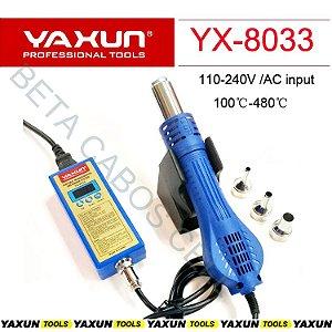 Estação De Retrabalho Portátil Yaxun Yx 8033 Yx-8033 110v Soprador