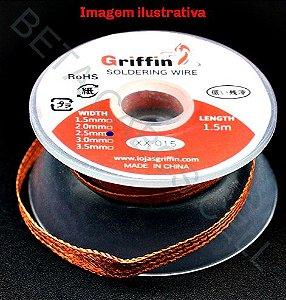 Malha Dessoldadora 2.0 XX-015 2.0mm x 1,5m Griffin
