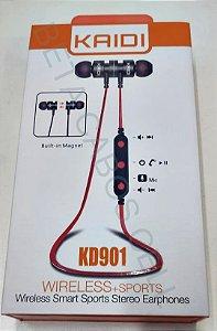 Fone Bluetooth Kaidi KD 901