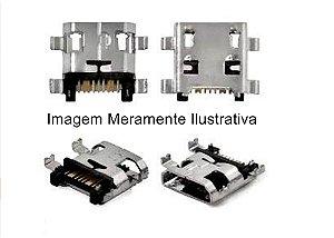 5 Pçs Conector Carga para Motorola Moto G5s
