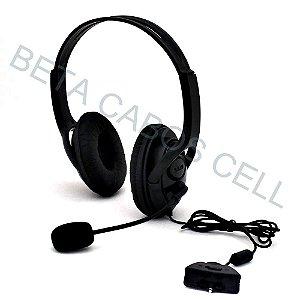 Fone De Ouvido Headset Microfone Xbox 360 Knup