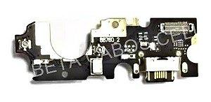 Placa Conector De Carga Dock Motorola Moto One Vision