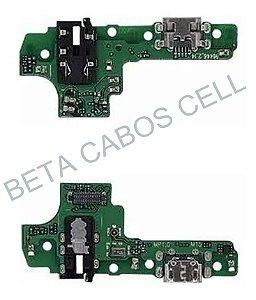 Flex Placa Conector De Carga com Microfone Samsung Galaxy A10s A107
