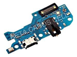 Placa Conector De Carga com P2 e Microfone Dock De Carga M30 M305