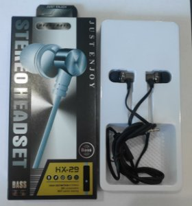 Fone Headset Heavy Bass HX 29 Just Enjoy