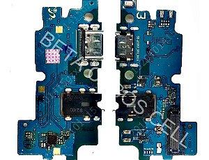 Conector De Carga Placa Dock Flex Usb para Samsung A30 com Microfone
