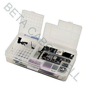 Caixa De Armazenamento Multifunções Organizador Em Pvc Bancada Celular Ss-001a
