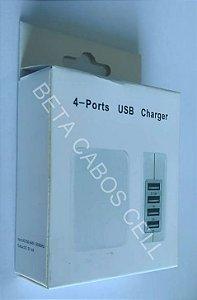 Fonte com 4 Portas USB