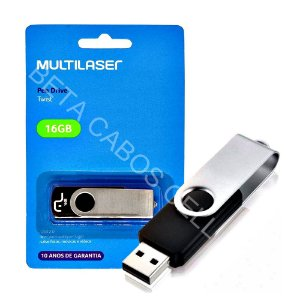 Pen Drive Pendrive Multilaser Twist 16 Gb