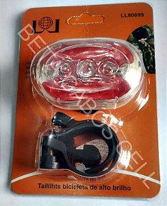 Sinalizador Bicicleta Segurança Flashing Luz LL 80899