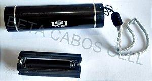 Lanterna Luz Negra Nota Falsa Escorpião Cura Tela UV Celular a Pilha