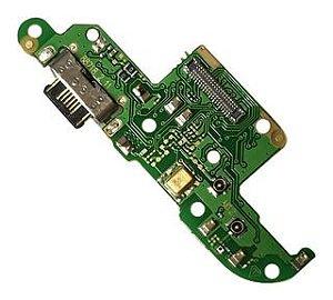 Placa Conector de Carga pra Motorola Moto G8 Power