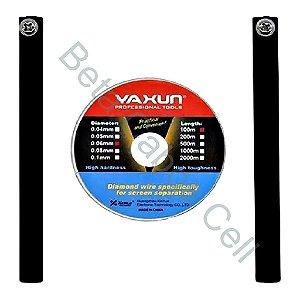 Fio de Aço Separador de LCD E TOUCH SCREEN YAXUN YX220-0.04MM YX 221
