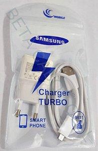 Carregador para Samsung V8 com Cabo Dados 2A