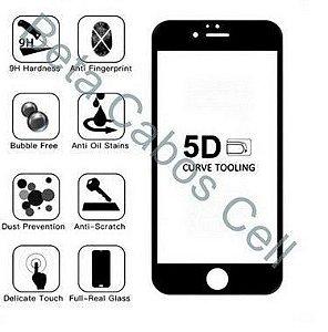 Pelicula 5D Preta para Samsung M51