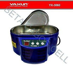 Cuba Banheira Ultrassom Digital Para Limpeza Banho Quimico Yaxun 3060 500Ml 220V