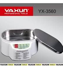 Cuba Banheira Ultrassom Digital Para Limpeza Banho Quimico Yaxun 3560 500Ml 110V