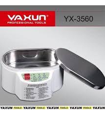 Cuba Banheira Ultrassom Digital Para Limpeza Banho Quimico Yaxun 3560 500Ml 220V