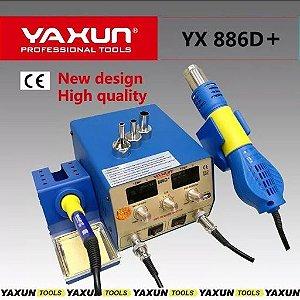 Estação De Solda E Retrabalho Yaxun YX 886D+ 110v