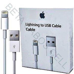 Cabo Dados Carga Lightning para Iphone 5 ao 11 Ipad na Caixinha 1 Metro