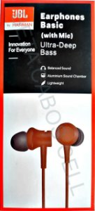 Fone JBL Ultra Deep Bass Earphones Basic Estereo P2 Ultra Deep Bass Celular Pc Notebook