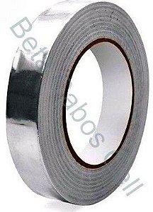 Fita de Alumínio Adesiva para Retrabalho 25mm 25 cm x 50m
