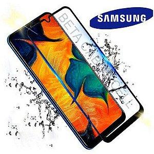 Pelicula 5D Preta para Samsung M31