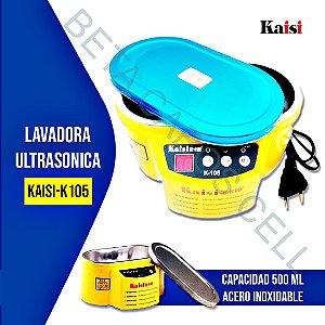 Cuba Banheira Ultrassom Digital Para Limpeza Banho Quimico kAISI k 105 k105 500Ml 110V
