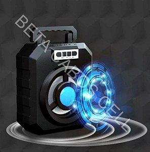 Caixa De Som YD-669 YD 669 Bluetooth Pendrive Usb Cartão