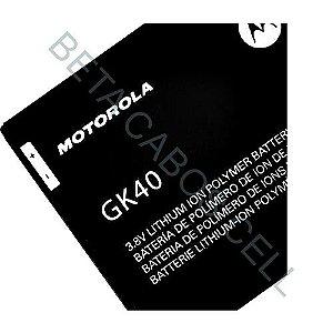 Bateria para Motorola G4 Play GK 40 AAA Alta Qualidade