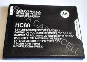 Bateria para Motorola Moto C Plus XT1726 HC60 2685/2800 mAh AAA Alta Qualidade