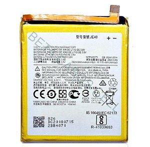Bateria para Motorola G7 Play Xt1952 JE40 AAA Alta Qualidade