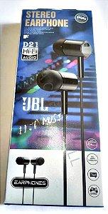 Fone de Ouvido P2 Celular JBL Stereo D21