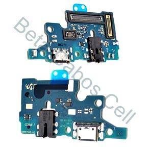 Conector De Carga Placa Dock Flex Usb para Samsung A70 com Microfone